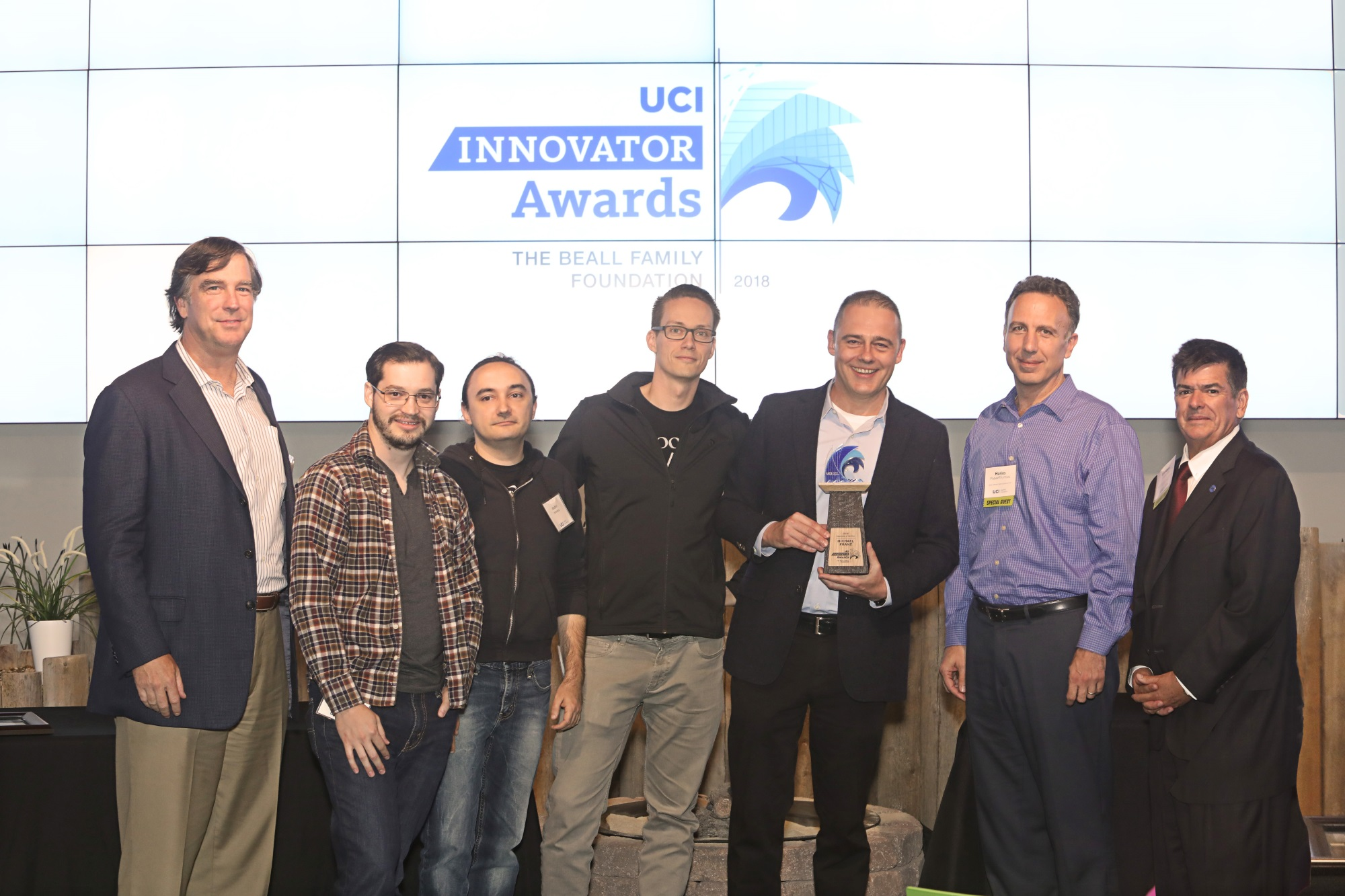 Professor Franz Receives UCI Applied Innovation's Inaugural Innovator of the Year Award